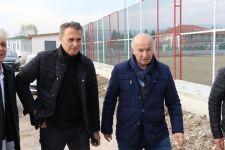 FİKRET ORMAN'DAN BOLUSPOR'A ZİYARET